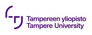 Tampereen yliopisto logo FI ja ENG